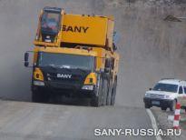 Автокран SANY