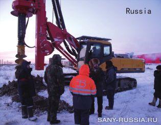 Роторная буровая установка SANY в России