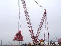 Техника SANY работает в России