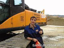 Буровая установка SANY SR150C на строительстве ТЭЦ в Сочи (фото)