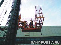 Подъёмная платформа сваебойной установки SANY