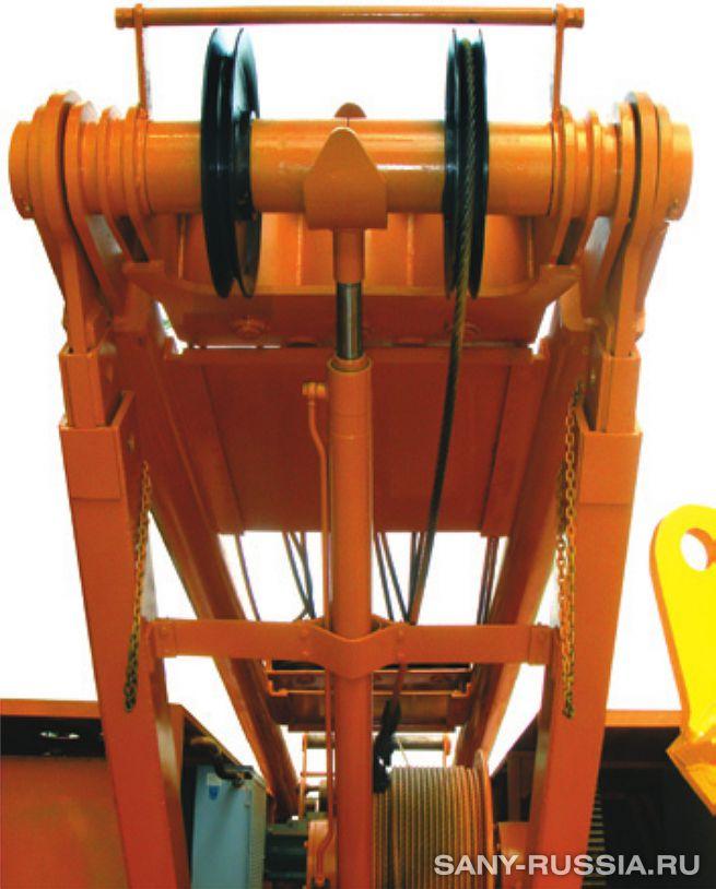Механизм подъёма мачты