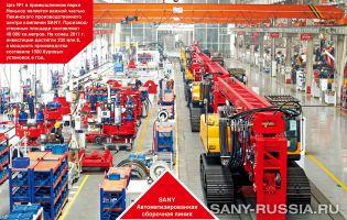 Производство буровых установок SANY