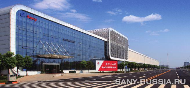 eSANY производство автокранов