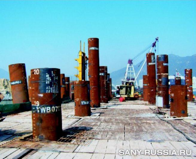 Строительство третьей очереди морского порта Яньтянь (Китай)