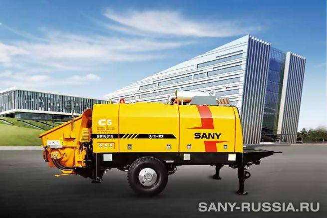 Стационарный бетононасос SANY HBT C5