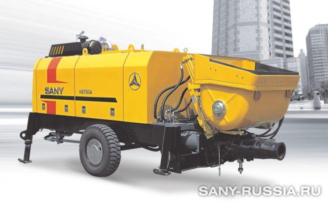 Стационарный бетононасос SANY HBT60A-1406D