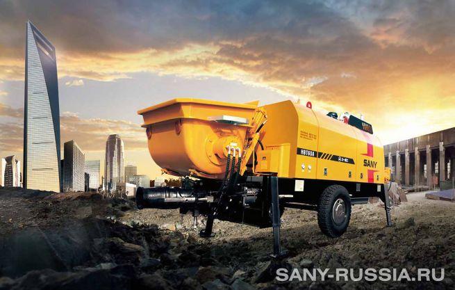 Стационарный бетононасос SANY HBT60A-D