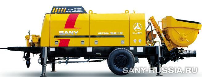Стационарный бетононасос SANY HBT60A-1406