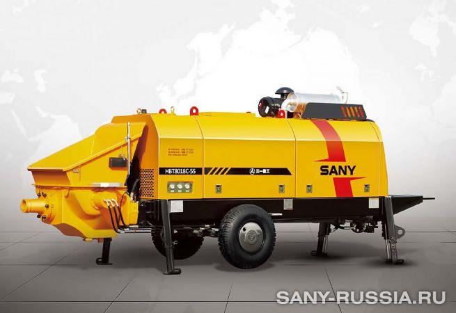 Стационарный бетононасос SANY HBT8018C-5S