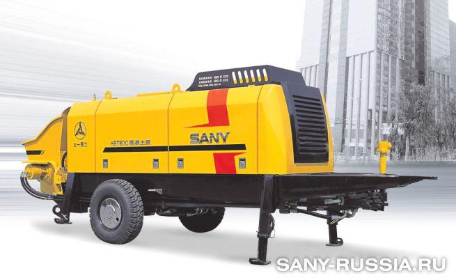 Стационарный бетононасос SANY HBT80C-1818
