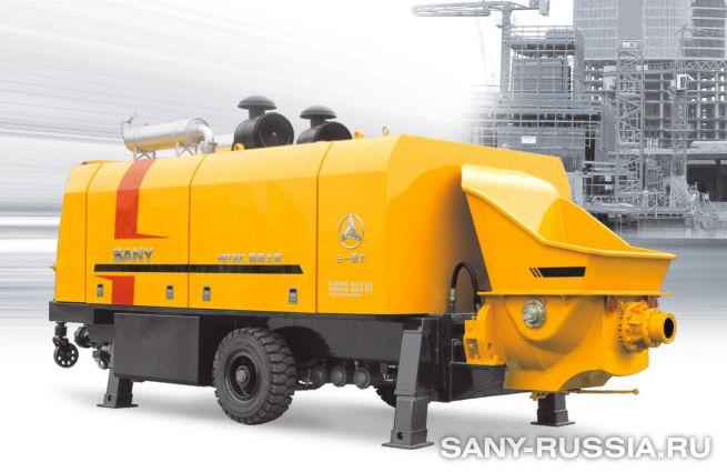 Стационарный бетононасос SANY HBT90CH-2128D
