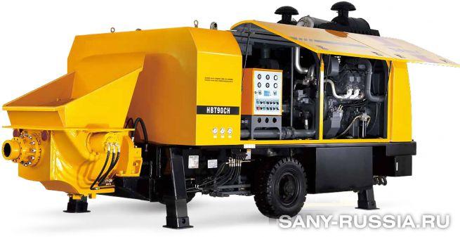 Стационарный бетононасос SANY HBT90CH-2135D