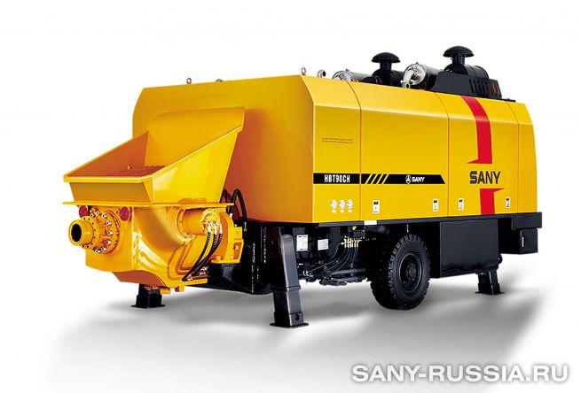 Стационарный бетононасос сверхвысокого давления SANY HBT9028CH-5S
