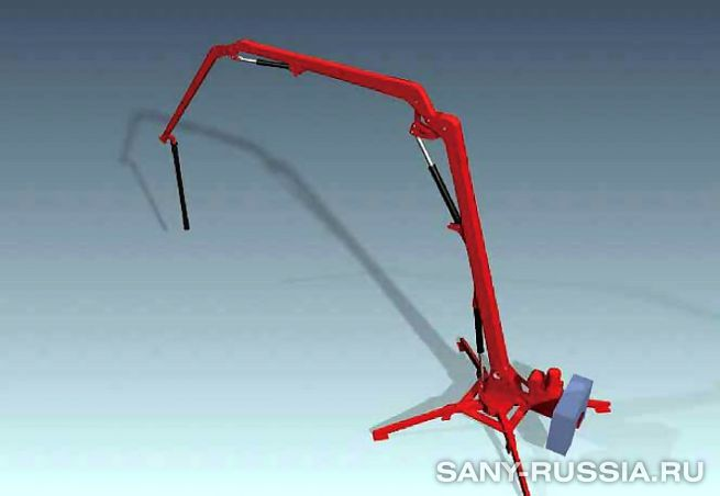 Мобильная бетонораспределительная стрела SANY HGY20 II