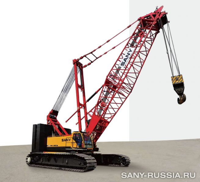 Кран гусеничный SANY SCC2500C