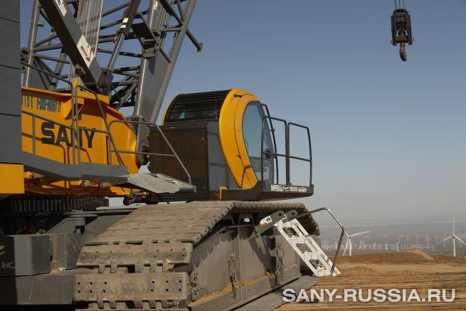 Кран гусеничный SANY SCC8300