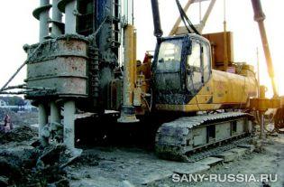 SANY SF558 с трёхлопастной SMW установкой