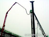 Сваебойная установка SANY SF558G CFG
