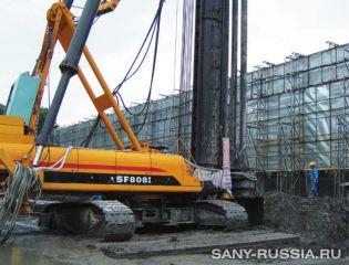 Универсальная сваебойная установка SANY SF808 I