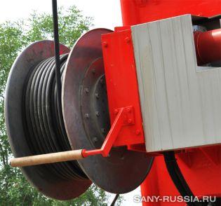 Канатная лебёдка грейферного экскаватора SANY SH400C