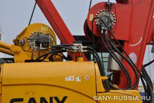 Главная лебёдка грейферного экскаватора SANY SH400C