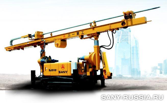 установка для струйной цементации грунтов SANY SJ510