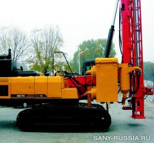 Буровая установка SANY SQ170