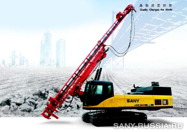 Буровая установка для бурения взрывных скважин SANY SQ170
