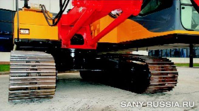 Шасси буровой установки для бурения взрывных скважин SANY SQ170