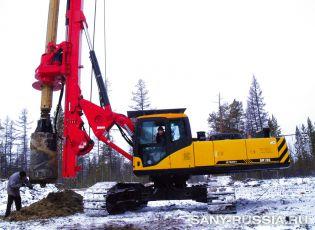 SANY SR150 в России