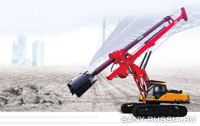 Буровая установка с электроприводом SANY SR200D