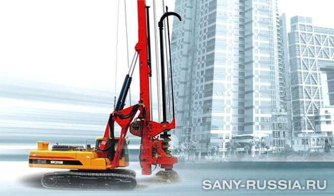 Буровая установка SANY SR200M CFA