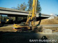 SANY SR 220C работает в Атланте, США