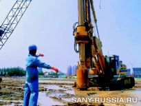SANY на строительстве олимпийского стадиона