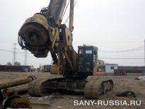 SANY на строительстве магистрали Пекин-Шанхай