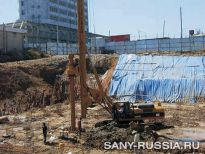 Строительство завода в городе Порт-Саид, Египет