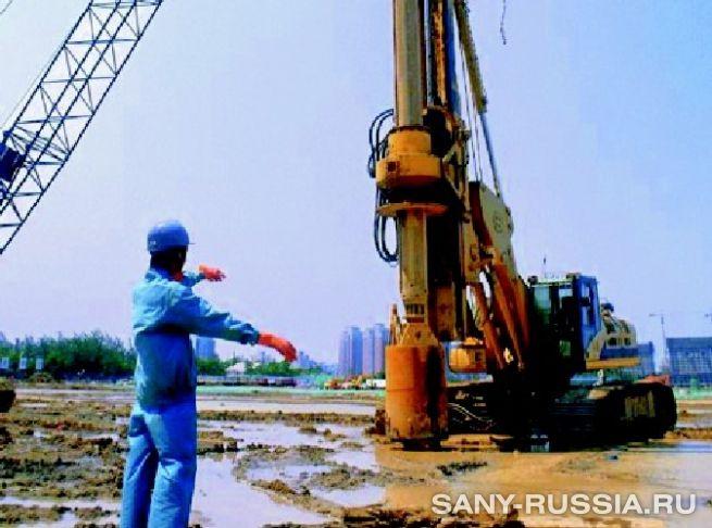 SANY на строительстве главного олимпийского объекта