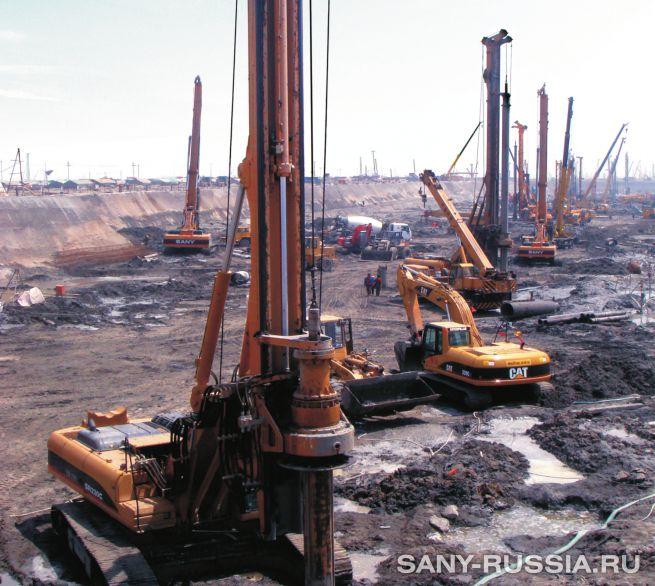 Буровые установки SANY SR220C