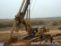 SANY на строительстве Цзинцзиньской железной дороги