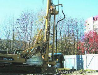 Буровая установка SANY SR250M CFA в Днепропетровске
