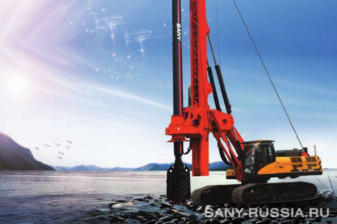 Буровая установка SANY SR280R