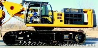 Шасси буровой установки SANY