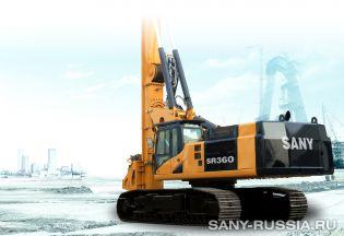 Буровая установка SANY SR360
