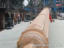 келли-штанга SANY SR360 на строительстве моста