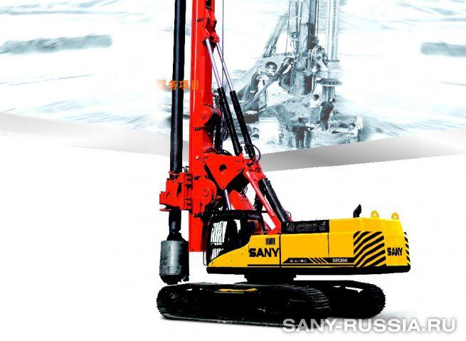Буровая установка SANY SR360 II