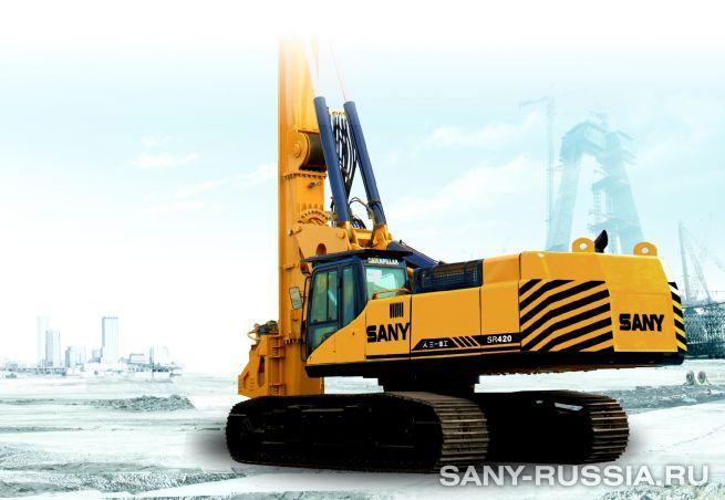 Буровая установка SANY SR420