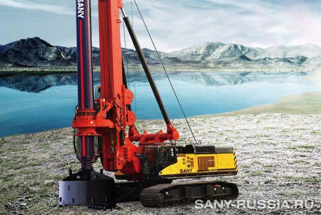 Буровая установка SANY SR460