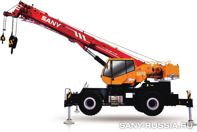 Кран самоходный колёсный SANY SRC350