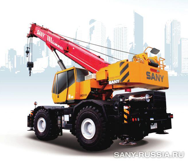 Кран самоходный колёсный SANY SRC550H